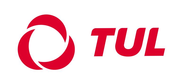 Suomen Työväen Urheiluliitto TUL ry:n logo